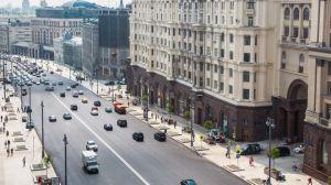 центре российской столицы