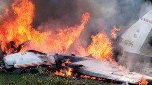 разбился самолёт