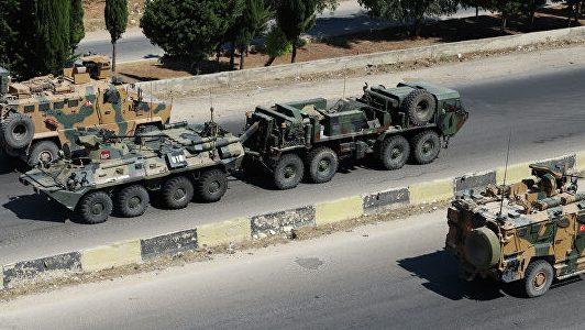 российского-турецкий патруль