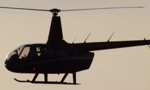 посадка вертолёта