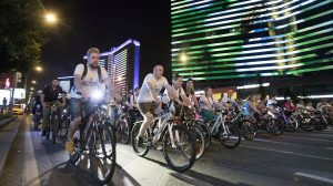 ночная велогонка