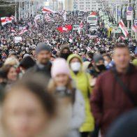 протестный марш