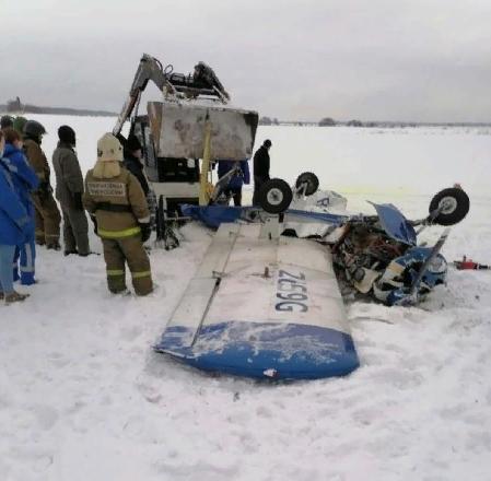 упал легкомоторный самолёт