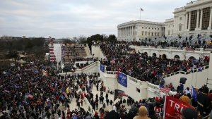 беспорядки в Вашингтоне