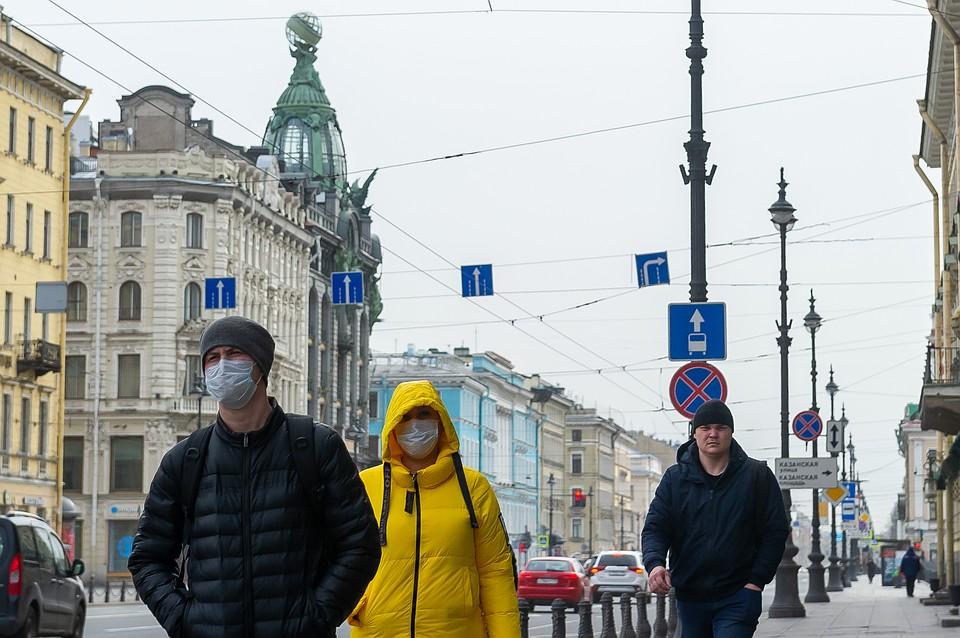 В Петербурге за неделю заболеваемость коронавирусом снизилась на 40 процентов