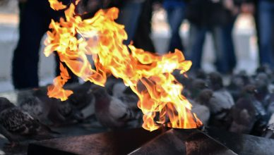 погасили Вечный огонь