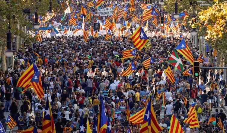 акции в Барселоне