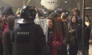 Полиция Мадрида разгоняет подпольные вечеринки