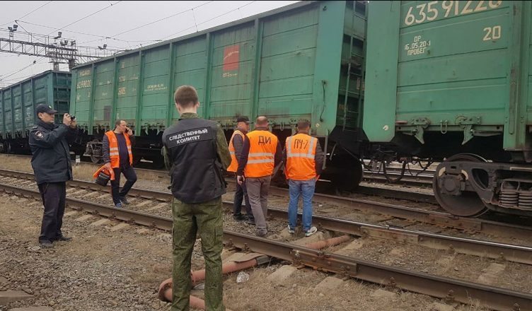 7 грузовых вагонов