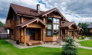 В России рекордное строительство деревянных домов