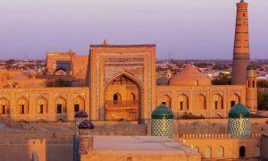 в Узбекистан
