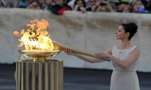 Сколько топлива уходит на Олимпийский огонь